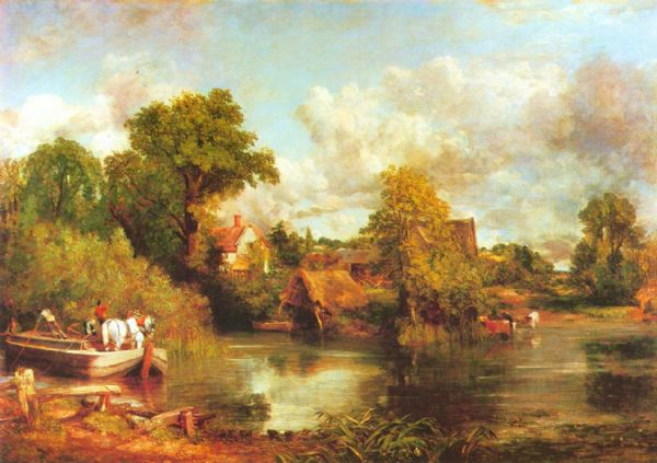 Constable, John: The White Horse. Fine Art Print/Poster. Sizes: A4/A3/A2/A1 (00907)